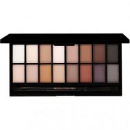 Paleta farduri de ochi Makeup Revolution Iconic Pro 1, 16 Culori