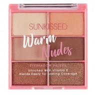 Paleta farduri de ochi Sunkissed Warm Nudes Eyeshadow Palette