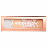 Paleta pudre iluminatoare Loreal La Vie En Glow Highlighting 02 Cool Glow