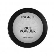 Pudra de fata translucenta Ingrid Rice Powder Matt Effect