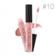 Ruj de buze lichid mat Focallure Ultra Chic Lips, Nuanta 10 Ruddy Pink