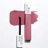 Ruj de buze rezistent la transfer Maybelline Superstay Matte Ink 125 Inspirer