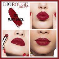 Ruj Dior Ultra Rouge, 851 Shock