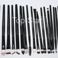 Set 20 pensule machiaj Black Brushes