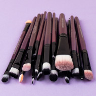 Set 20 pensule machiaj Mauve Brushes