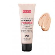 Fond de ten BB Cream Crema hidratanta uniformizanta PUPA 001 Nude