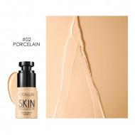 Fond de ten fluid Focallure Skin Evolution SPF15, 02 Porcelain