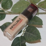Fond de ten LOREAL Infailible 24H Nuanta 125 Natural Rose