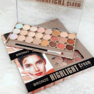Paleta Contur Kiss Beauty Bronze Highlight Cream Palette, 2
