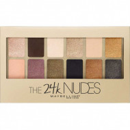 Paleta farduri de ochi Maybelline New York The 24 Karat Nudes Eyeshadow
