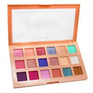 Paleta farduri de pleoape Makeup Shimmer, 18 Culori