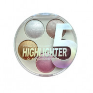 Paleta Iluminatoare Msyaho 5 Highlighter to Perfection, #1