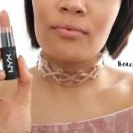 Ruj de buze mat NYX Velvet Matte Lipstick 02 Beach Casual