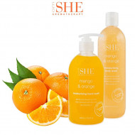 Sapun lichid de maini Om She Aromatherapy Mango & Orange Hand Wash, 500 ml