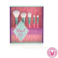 Set 5 pensule machiaj Sunkissed Blend Like A Pro Makeup Brushes