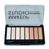 Trusa farduri de ochi Kiss Beauty Makeup Studio Deluxe #1