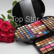 Trusa machiaj 130 farduri make up Miss Rose Brilliant Palette