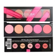 Trusa machiaj farduri de obraz Loreal Paris Infaillible Blush Paint Pinks