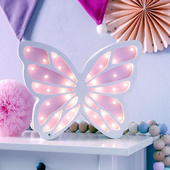 Lampa de veghe Butterfly