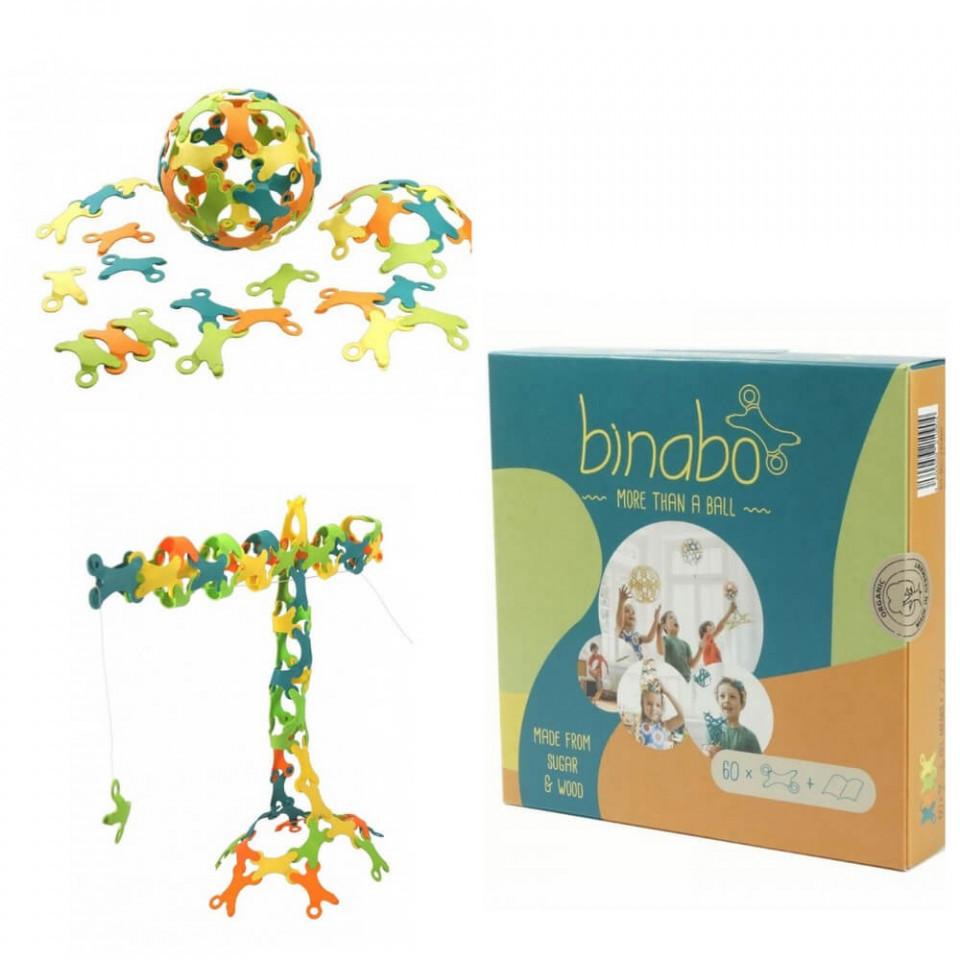 Joc constructie Binabo Mixed 60 piese