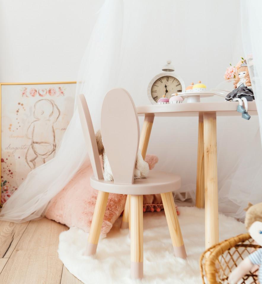 Scaun lemn copii