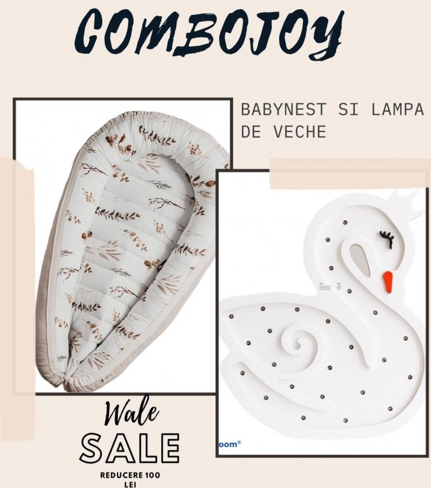 COMBOJOY - BABYNEST+ LAMPA VEGHE