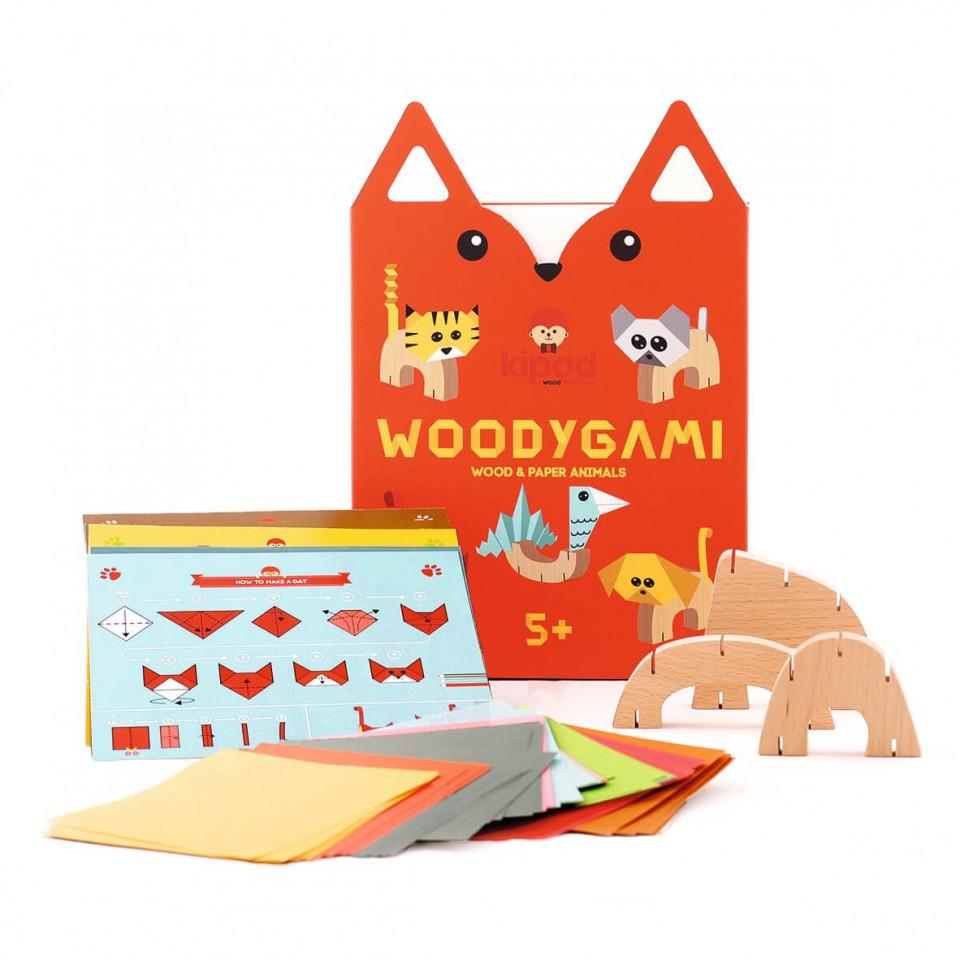 Joc din lemn WoodyGami, Kipod Toys