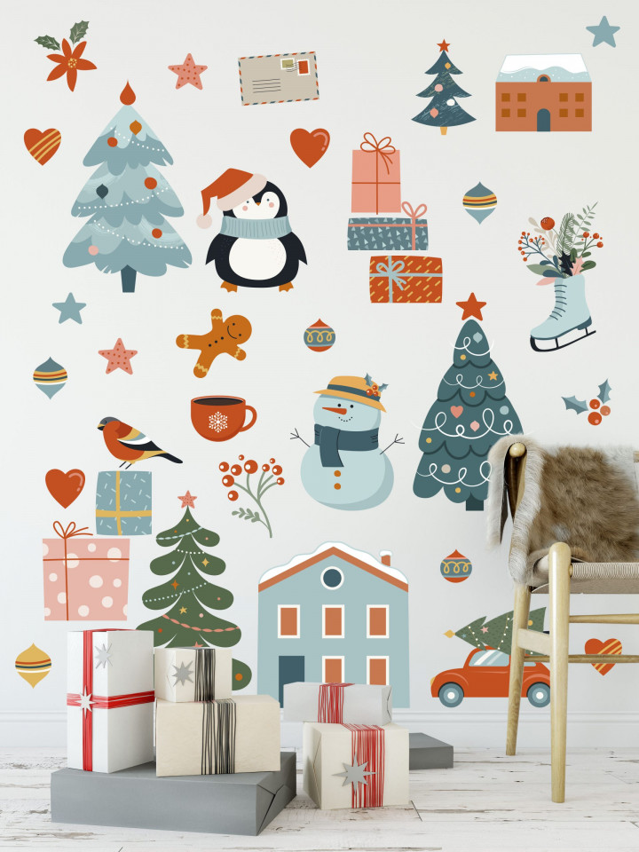 Stickers Santa Claus is coming...