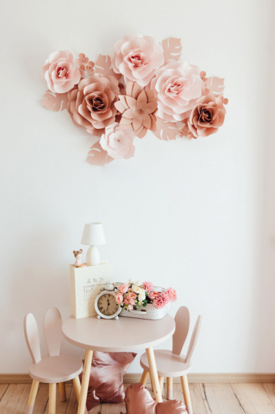Flori decorative dusty pink