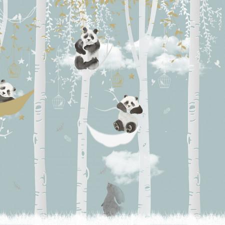 Tapet- panda sky