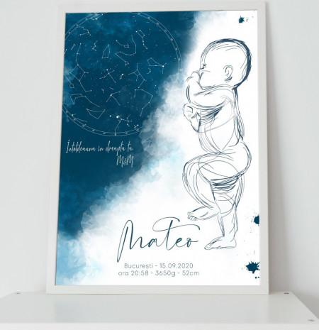 Sweet Baby Sky Poster Personalizat