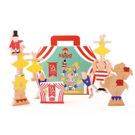 Joc de echilibru din lemn Ta-Da, Kipod Toys