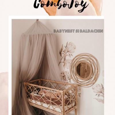 Combojoy- baldachin si babynest