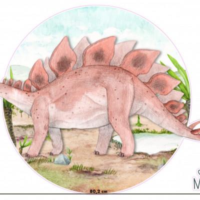 Sticker Dino Stegosaurus