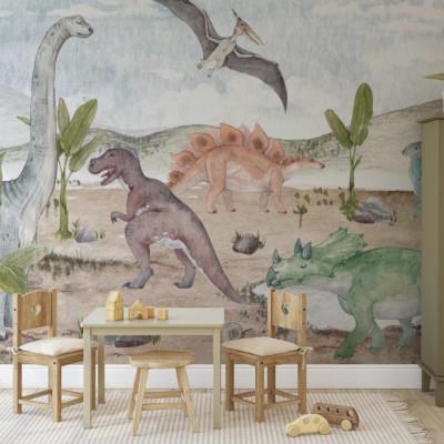 Tapet Dino Land