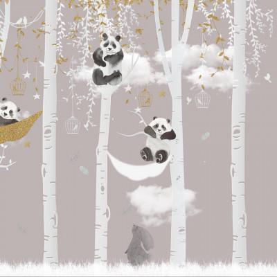 Tapet- panda story soft