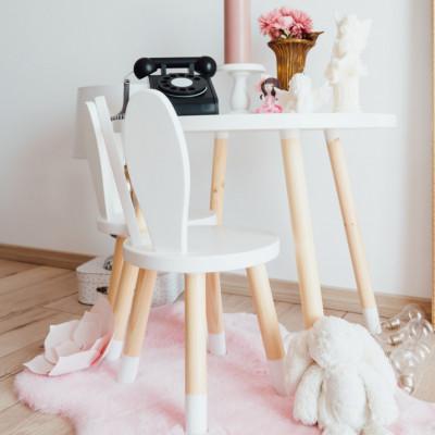 scaun iepuras alb