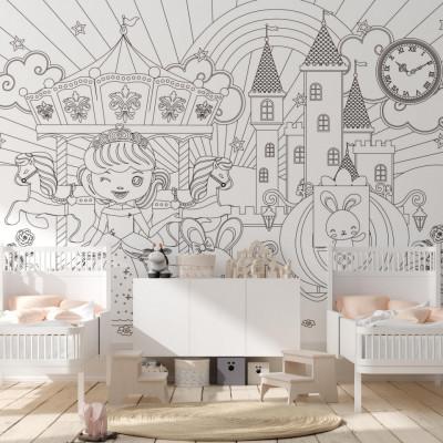 Tapet Draw my Fairytale