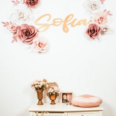 Flori decorative duo cu nume