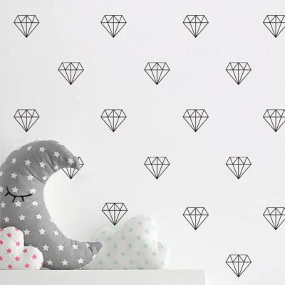 Sticker Black Diamonds