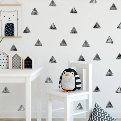 Sticker Metallic Triangles