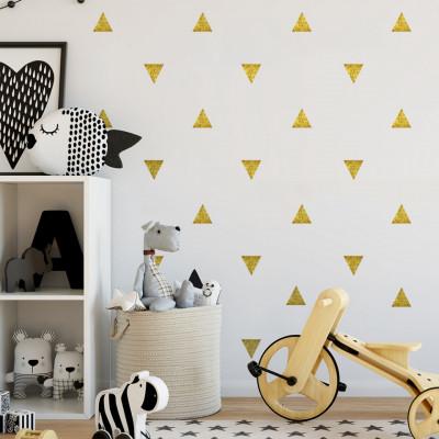 Sticker Golden Triangles
