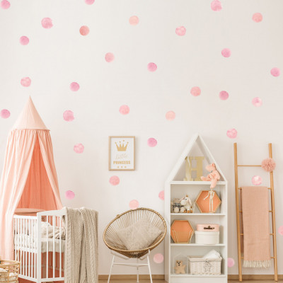 Sticker Pink Blush Spots