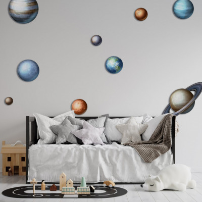 Stickere Planets