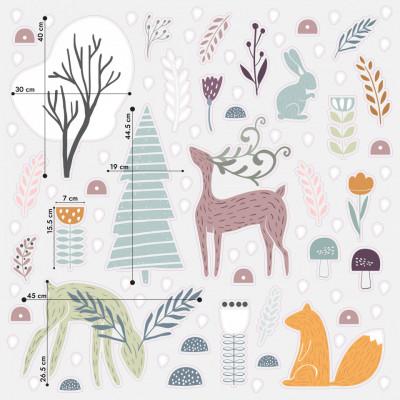 Stickere Scandi Christmas