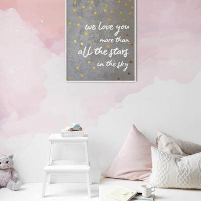 Tapet Cotton Candy Sky