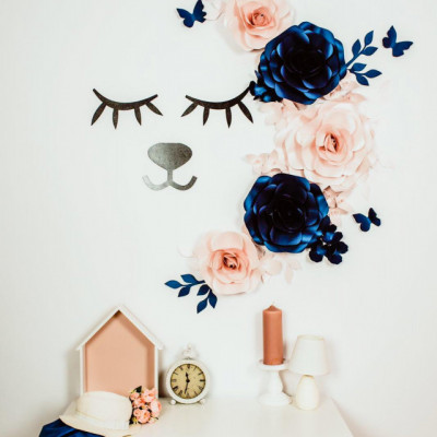 Flori decorative cu gene si nasuc