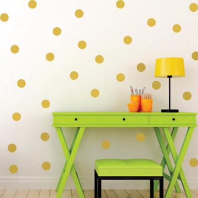 Sticker Golden Dots