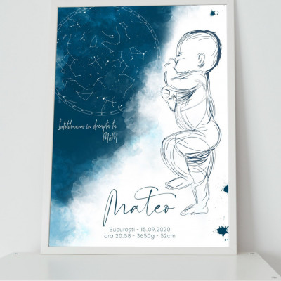 Sweet Baby Sky Poster Personalizat