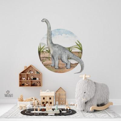 Sticker Dino Diplodocus